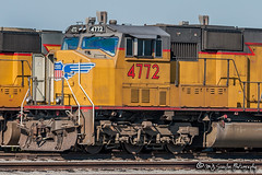UP 4772 | EMD SD70M | UP Marion Intermodal Railport