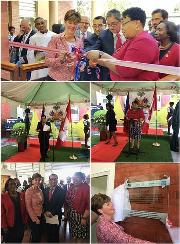 Inauguración Instituto Nacional de Formación de Parteras de Puerto Príncipe, Haití