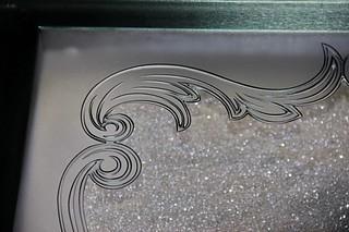 tavená plastika detail