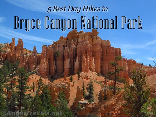 Spires along the Fairyland Trail. Discover the 5 best day hikes in Bryce Canyon National Park, Utah