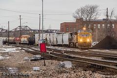 UP 4166 | EMD SD70M | UP Memphis Subdivision