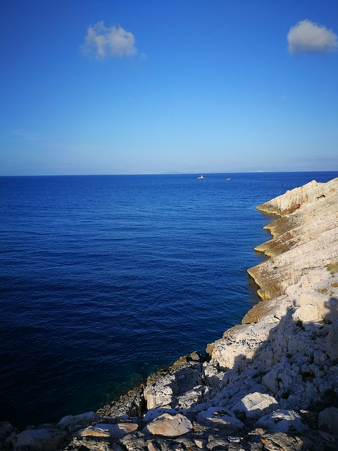 Island hopping Vis Croatia