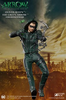 現代羅賓漢駕到~!Star Ace Toys DC TV Real Master 系列《綠箭俠》綠箭俠 豪華版 Green Arrow (Deluxe Version) 1/8 比例人偶作品