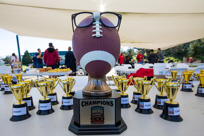 SLAC Gets Sporty at First 'Nerd Bowl'