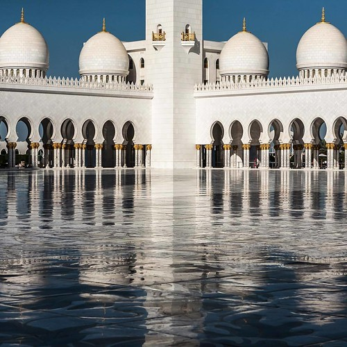 at The Great Mosque, Abu Dhabi