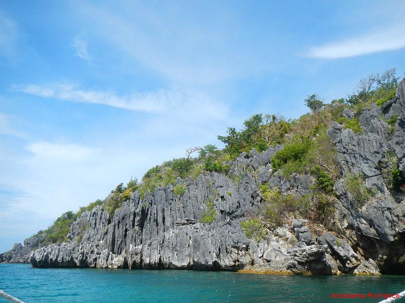 Rock slabs in Antonia Island Resort