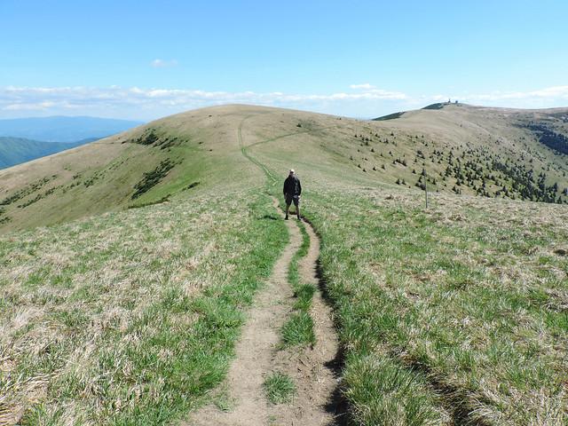 Hiking to Ostredok peak, Great Fatra National Park, Slovakia