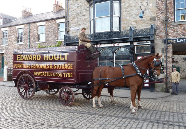 Victorian Horse-Drawn Pantechnicon
