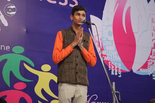 Devotional song by Yogesh Kadam from Gwalior