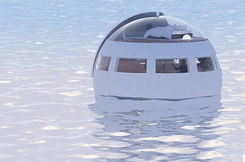 Si vous aimez la mer et les vastes étendues d'eaux ce «pod» est fait pour vous