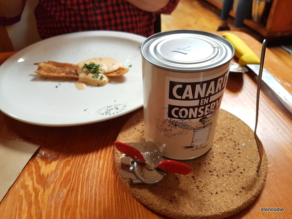 Duck in a Can before opened
