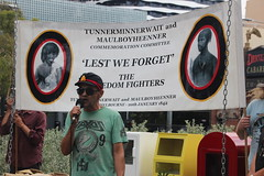 Robbie Thorpe speaks at Commemoration of Tunnerminnerwait and Maulboyheener - IMG_2794
