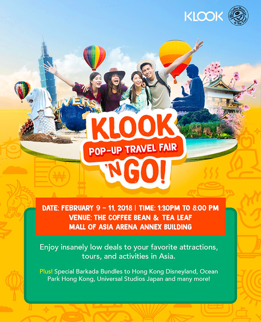 Press Release: Klook 'n GO Travel Fair at SM Mall Of Asia