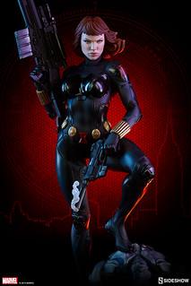 兼具性感與魄力的強悍姿態!! Sideshow Collectibles Premium Format Figure 系列 Marvel Comics 【黑寡婦】Black Widow 1/4 比例全身雕像作品