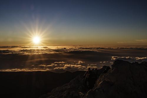 teide tenerife spain volcano sunset clouds cold espagne volcan 3718m fujifilm xt2 xf 1655 january janvier