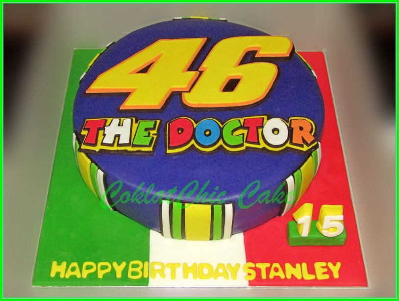 Cake #46 The Doctor STANLEY 30cm