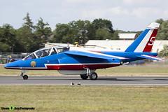 E31 5 F-TERK - E31 - Patrouille de France - French Air Force - Dassault-Dornier Alpha Jet E - RIAT 2010 Fairford - Steven Gray - IMG_9763