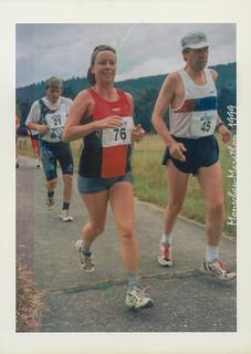 Claudia und Karlheinz auf der Strecke