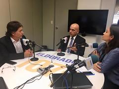 O Secretário Marcelo Caetano fala sobre a Reforma da Previdência em entrevista à rádio Eldorado.8.2.2018
