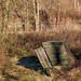 P2070038-1 Abandoned allotments, Sowerby Bridge.