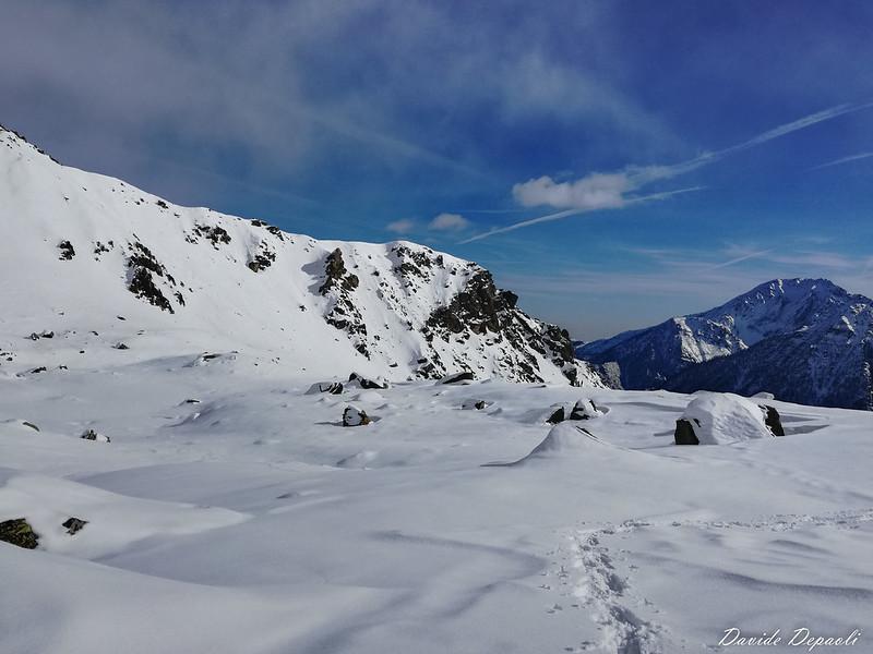 Laghi di Sagnasse 2083 m con Ciaspole