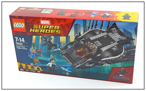 LEGO Marvel Super Heroes Black Panther 76099 & 76100 box 03