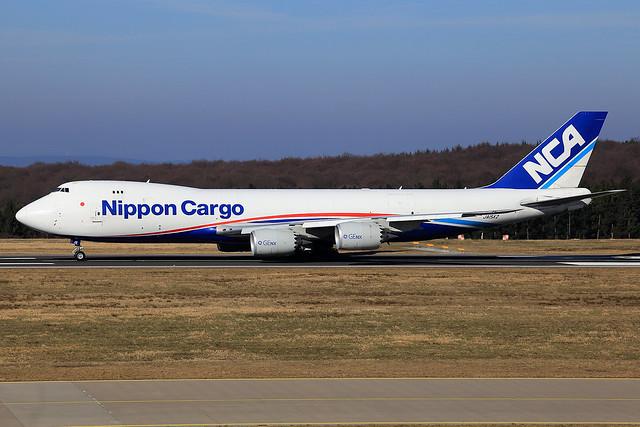 Nippon Cargo Airlines (NCA) Boeing 747-8KZ(F) JA15KZ