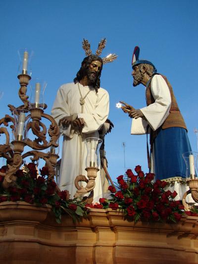Hermandad Sacramental y Cofradía de Nazarenos de Nº P. Jesús del Soberano Poder, María Santísima de la Caridad y San Mateo Evangelista. Vulgo