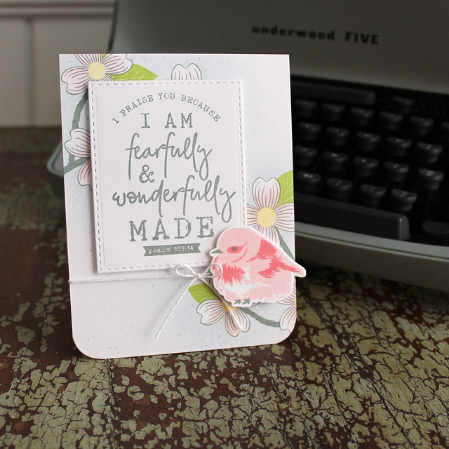 Lizzie Jones Fearfully & Wonderfully Made Card