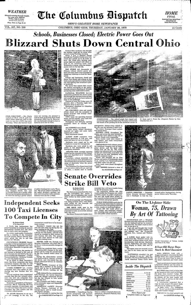 40 Years Ago Blizzard Of 78 Killed 51 Ohioans And Paralyzed The