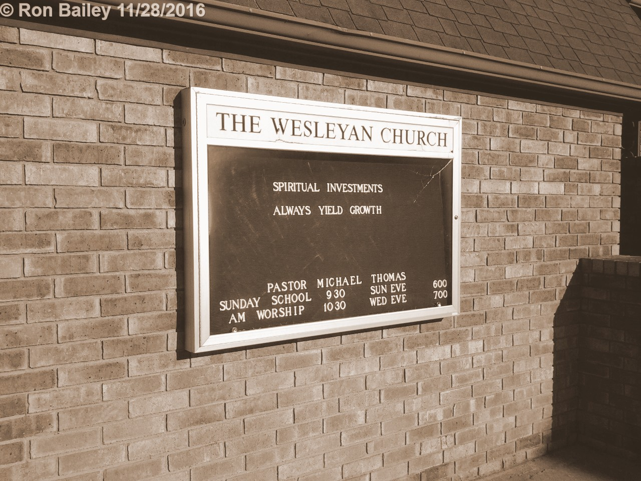 Nelsonville Wesleyan Church Sepia 11-27-2016 2-26-04 PM
