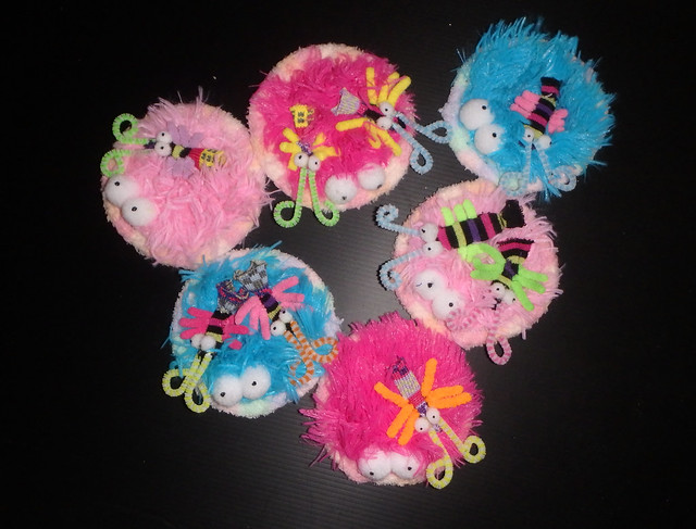 How to make plushie carpet anemone with anemone shrimps