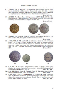 Irish Tavern tokens sample page 3