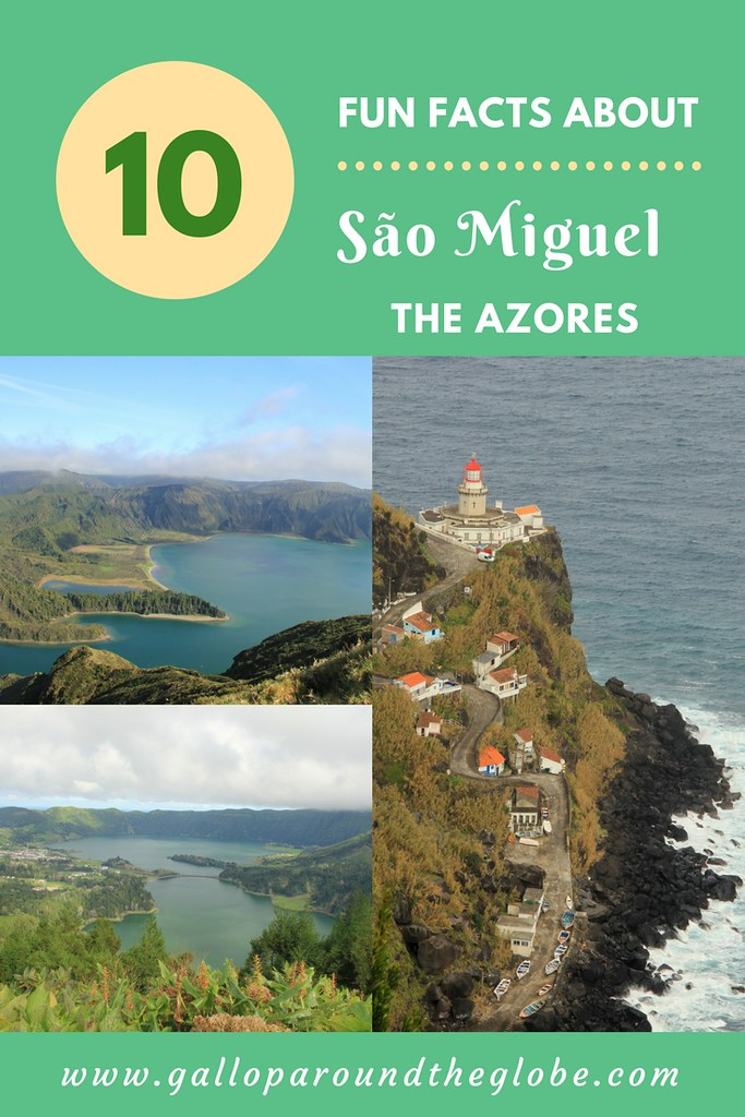 10 Fun Facts (that you probably didn't know) about Sao Miguel, The Azores