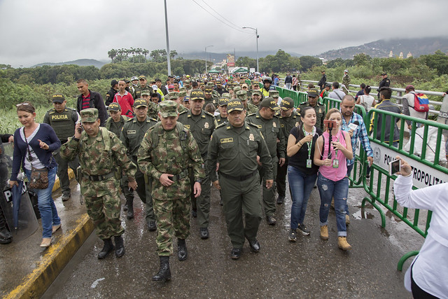 Fuerza pública fortalece la seguridad ciudadana en Cúcuta