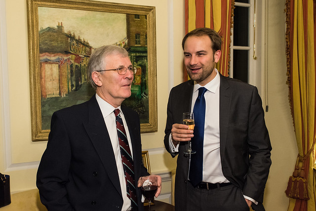 John Featherstone, British Council Guest - 2017 Tribute Dinner at the Residence of the British Ambassador