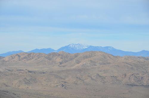 Joshua Tree - view of a mountain