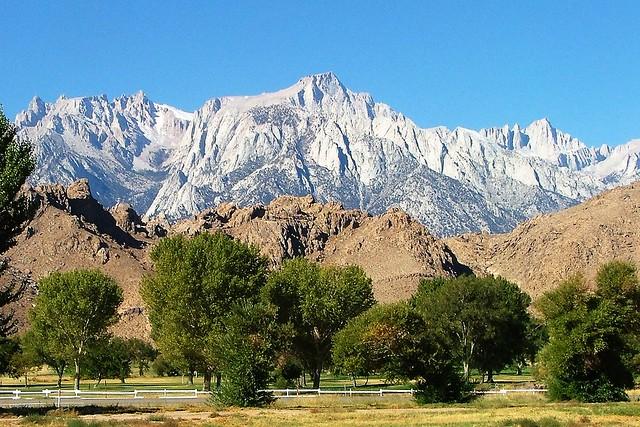 Sierra Nevada Mountains, Fujifilm FinePix S5000