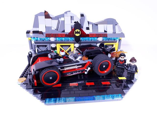 LEGO BANDIT BATHAWK HOTROD Nightwing