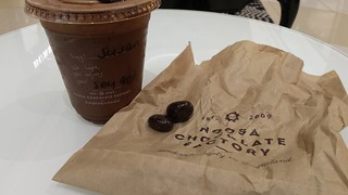 Noose Chocolate Factory 90% iced chocolate and chocolate covered cherries