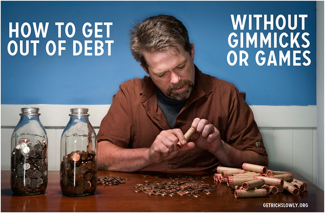 How to get out of debt (without gimmicks or games) ~ Get Rich Slowly