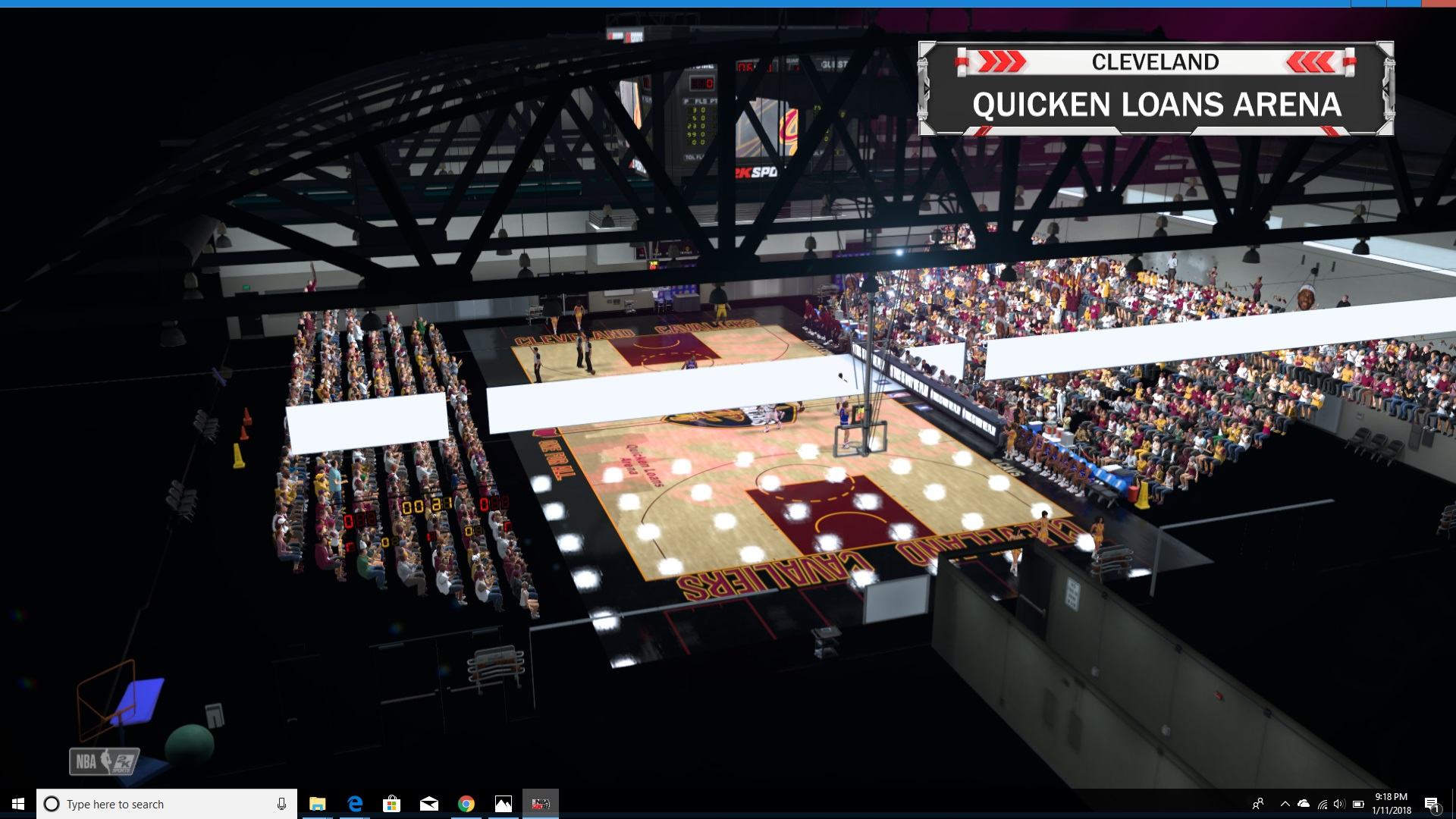 NLSC Forum • Re: Edited/Created Arenas w/Blender  Small Gym WIP