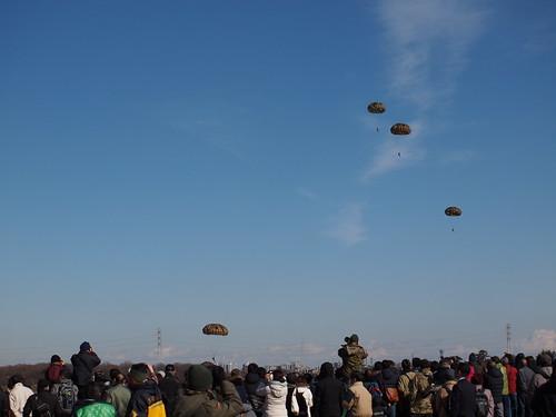 20180112_第1空挺団 降下訓練始め