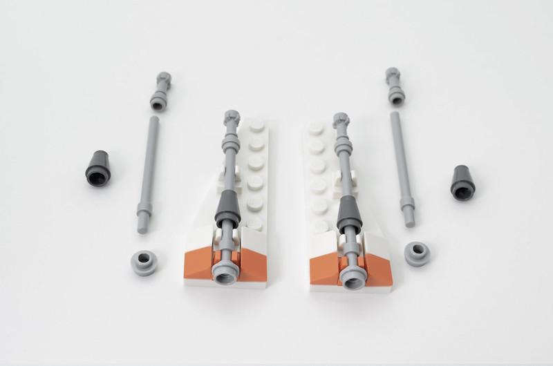 LEGO T-47 Snowspeeder - Micro Speeder Step 6