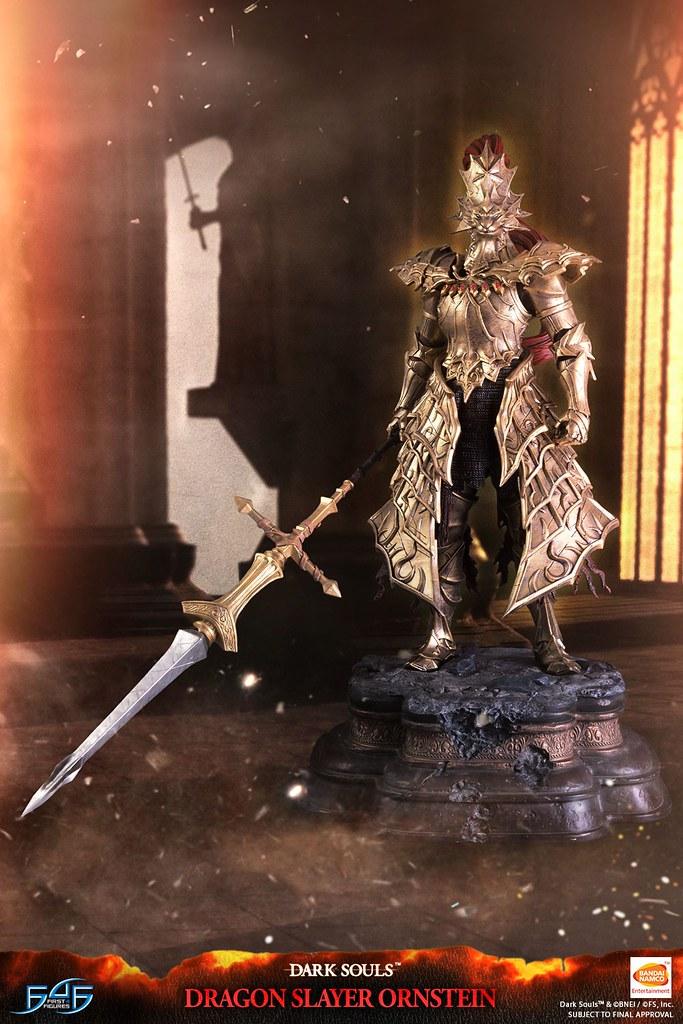 First 4 Figures《黑暗靈魂》獵龍者 翁斯坦(DRAGON SLAYER ORNSTEIN)全身雕像 普通版/限定版