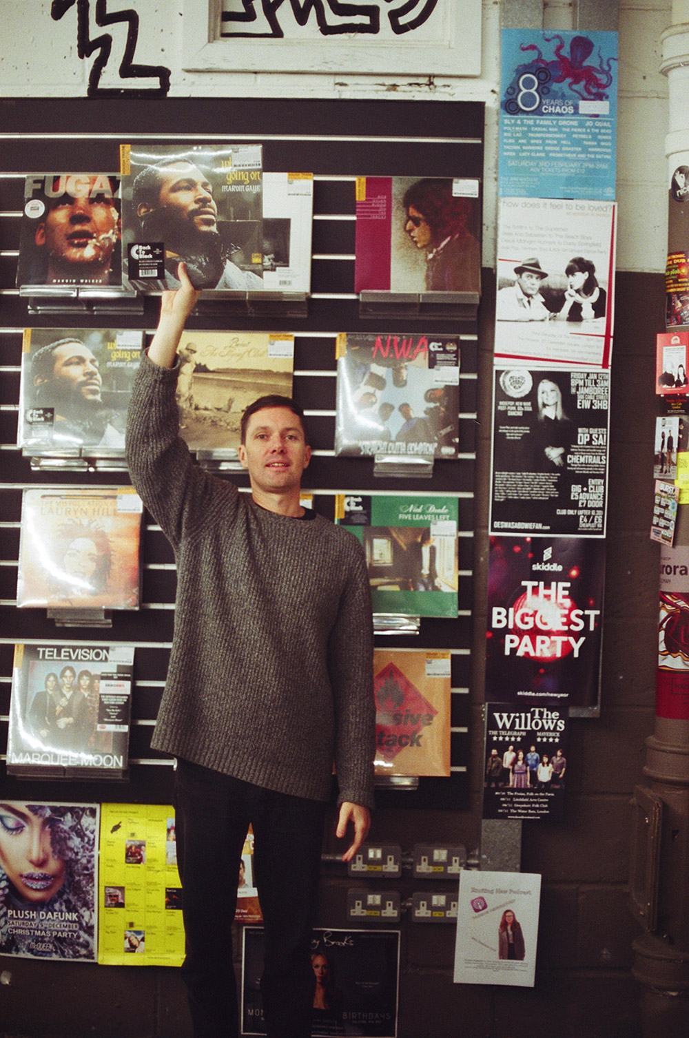 Record Shopping with RHYE at Rough Trade East