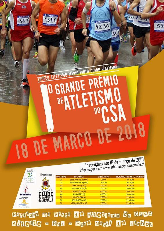 A4 - Cartaz 1º GP Atletismo CSA
