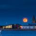 Full Moon Blood Moon Blue Moon Supermoon by Michael Halliday