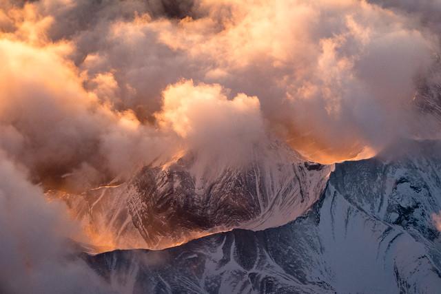 sunrise on the Rockies