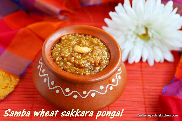 Samba wheat- sweet pongal